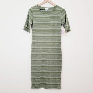 LuLaRoe Dresses - Lularoe 》Julia Striped Dress NWT Size Small